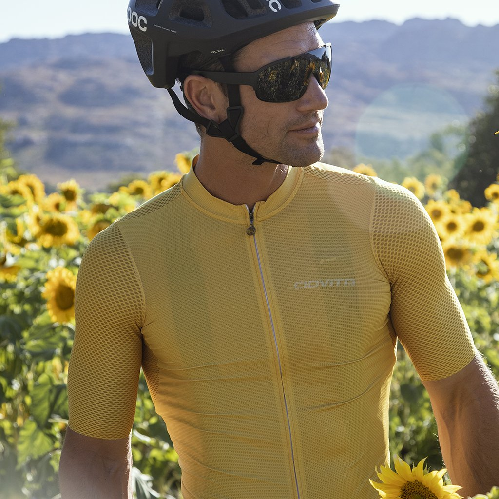 Men's Tinta Flyweight Jersey (Mustard Yellow)