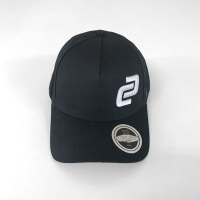 Black Curved Peak Snapback Cap (Lifestyle Bundle)
