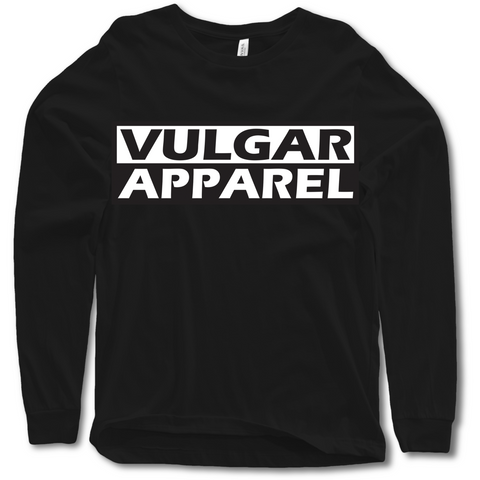 Classic Logo Long Sleeve - Vulgar Apparel Company