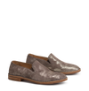 METALLIC PEWTER LOAFER