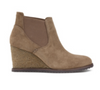 Tatum Oiled Italian Suede Wedge