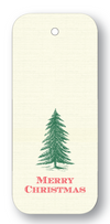 "Christmas Tree ""Merry Christmas"" Forest Gift Tags"