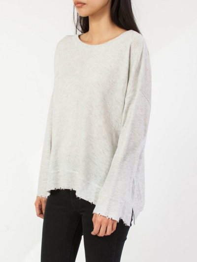 Lawson Light Grey Sweater Top