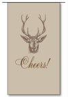 Stag Cheers Wine Bags