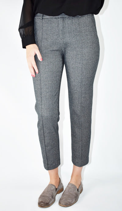 Sutton Charcoal Tweed Pant