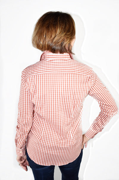 Gingham Button Up Shirt
