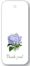 Thank You Hydrangea Gift Tags