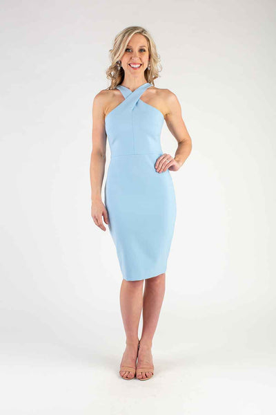 Audra Cross Neck Dress