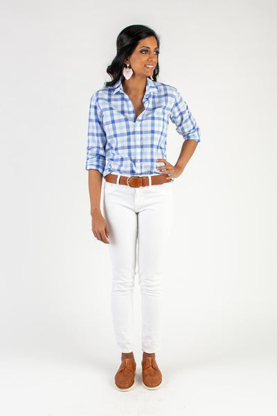 Classic Light Blue Button Down Shirt