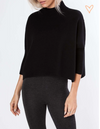AJ Black Knitted Sweater
