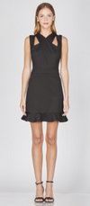 Bailey Knit Cross Over Dress