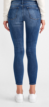 Mid Rise Ankle Skinny Denim
