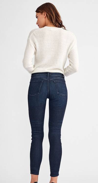 The Mav Mid Rise Instaculpt Ankle Skinny Jean