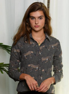 Silk Safari Button Down Shirt