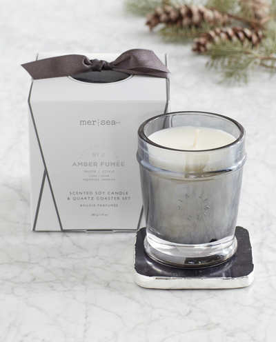 LUXE QUARTZ BOXED CANDLE