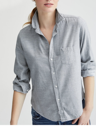 Frank & Eileen Heather Gray Flannel Shirt