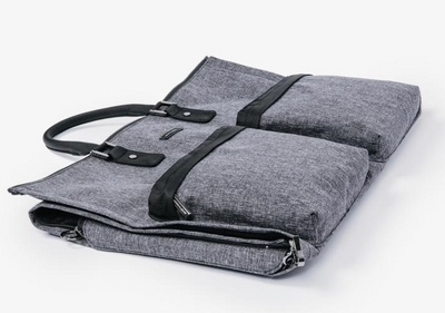 Gray Weekender Garment Bag