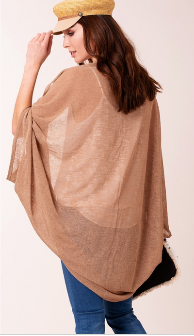 Sheer Lightweight Cocoon Wrap