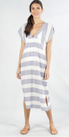 Blue Bell Stripe Dress