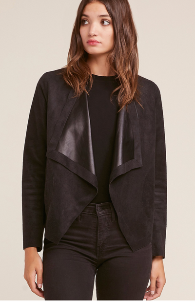 Tegan Reversible Black Jacket
