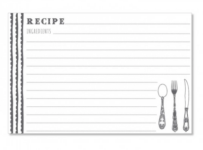 Scrumptious Dots Recipe Cards