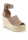 MARC FISHER ESPADRILLE PLATFORM WEDGE