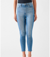 Chrissy Ultra High Rise Skinny Denim