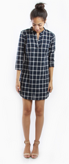 Crosby Flannel Dress Top
