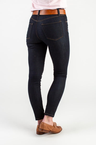 HIGH RISE SKINNY DENIM