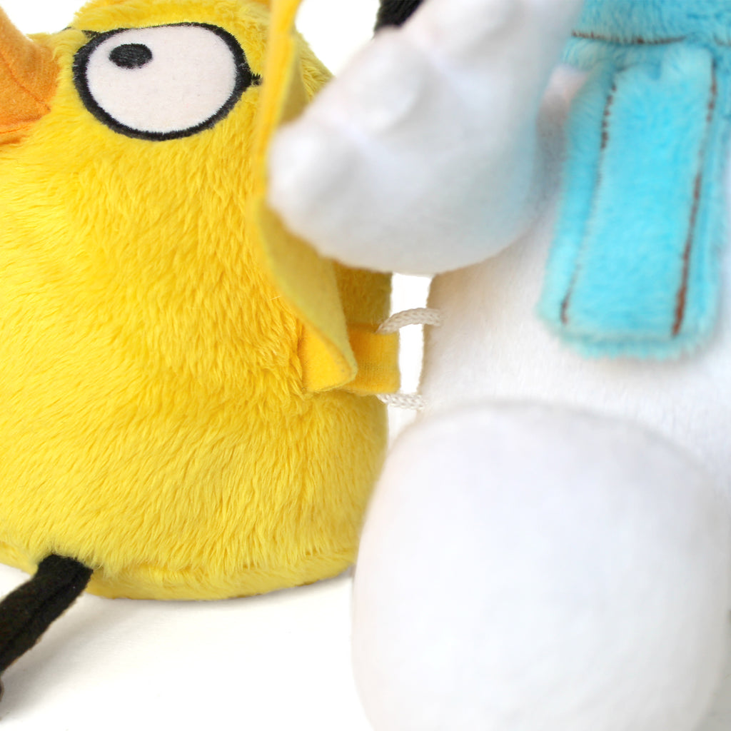 Number One Sam and Chick Soft Toy Pair