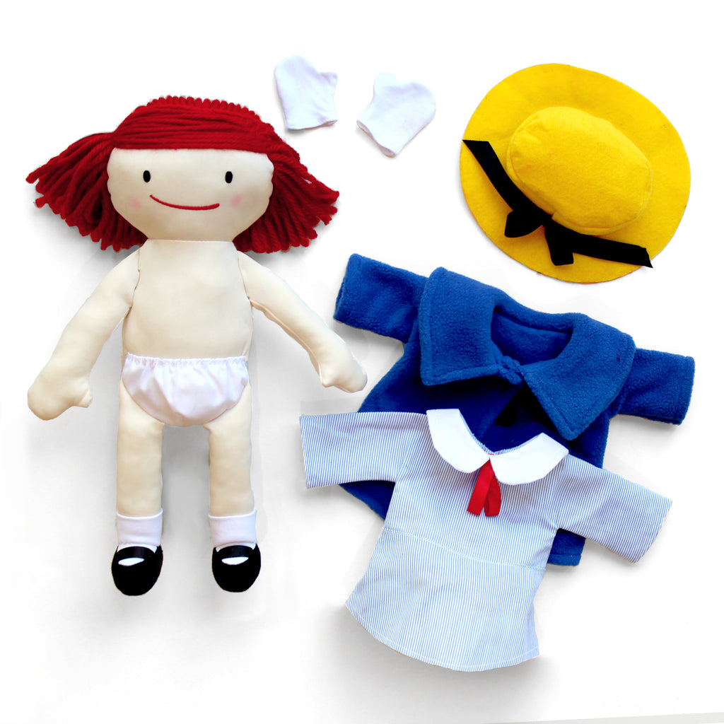 "Classic Madeline 16"" Soft Doll"