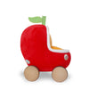 Lowly Worm Soft Toy in Applecar
