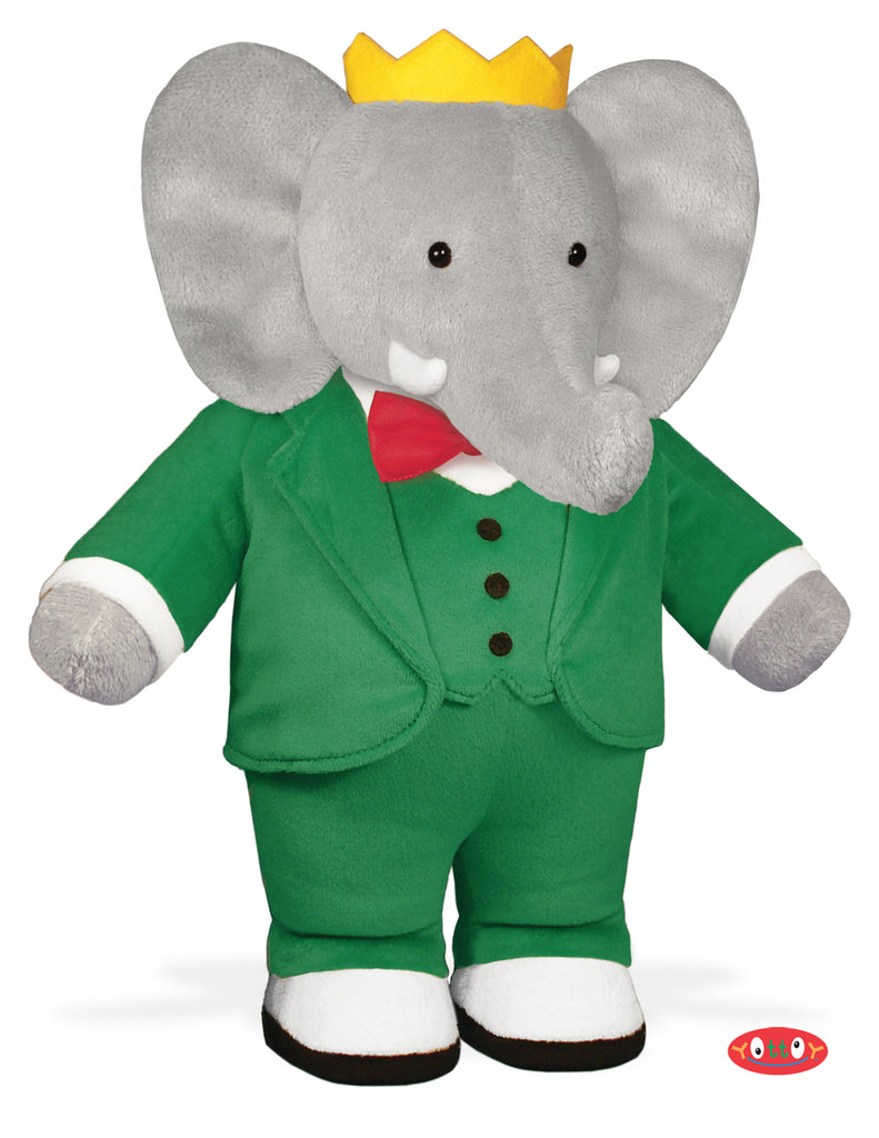 Babar 13 Soft Toy Yottoy Productions