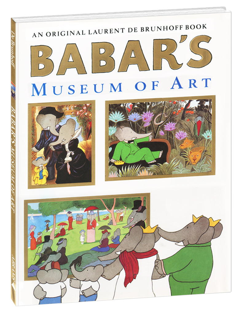 """Babar's Museum of Art"" Hardcover Book"