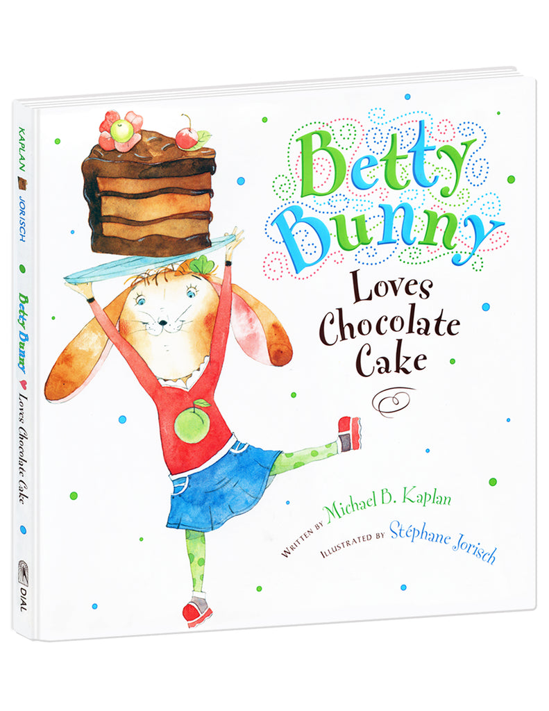 """Betty Bunny Loves Chocolate Cake"" Hardcover Book"