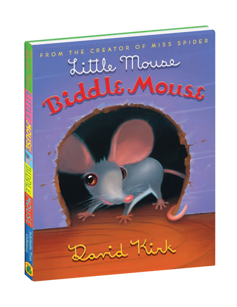 """Little Mouse, Biddle Mouse"" Hardcover Book"