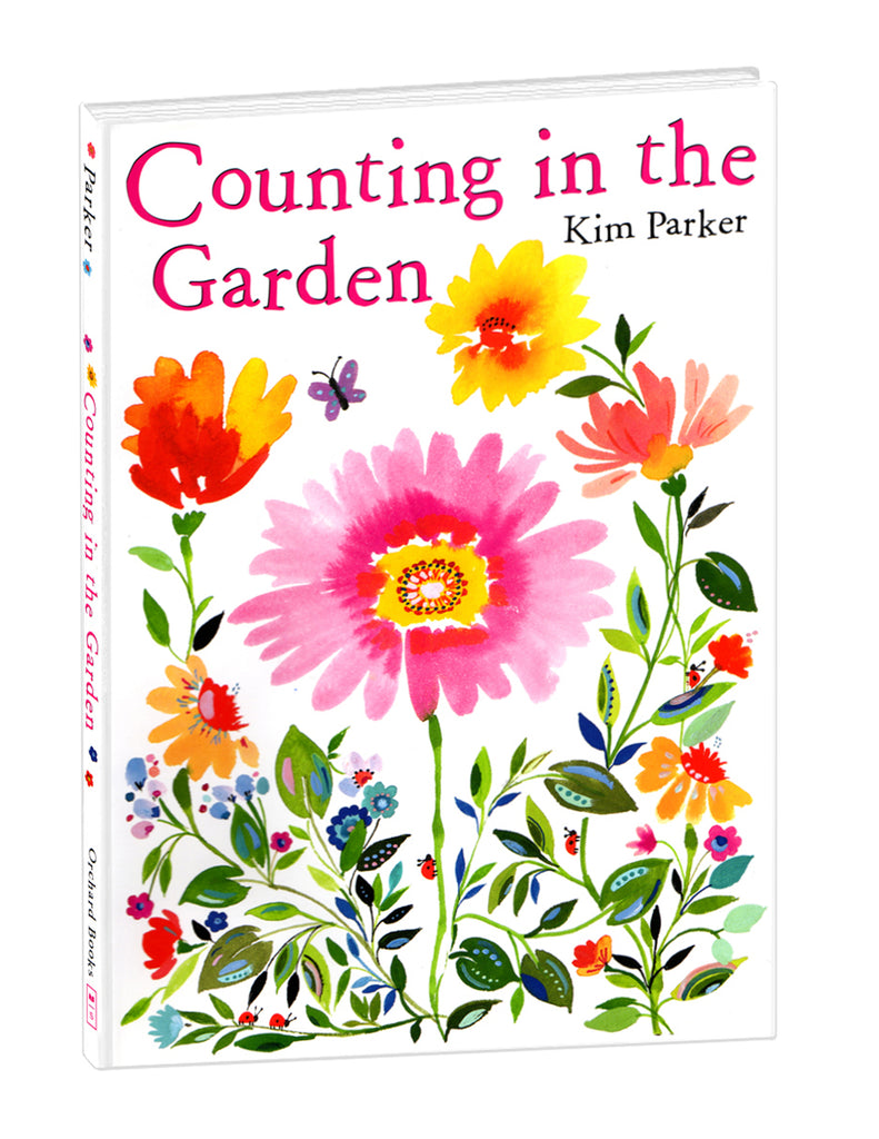 """Counting in the Garden"" Hardcover Book"