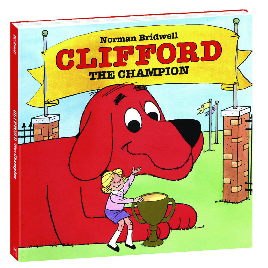 """Clifford The Champion"" Hardcover Book"