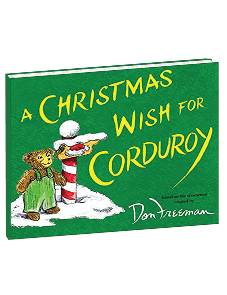 """A Christmas Wish for Corduroy"" Hardcover Book"