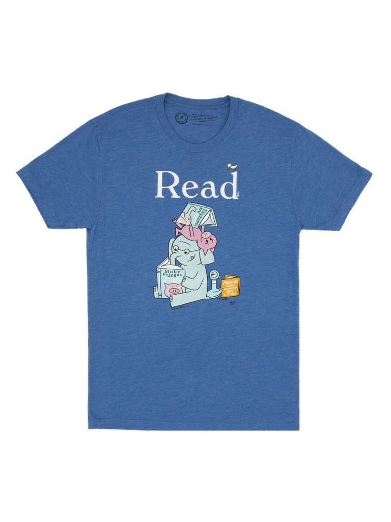 Elephant & Piggie Read T-Shirt - Adult's