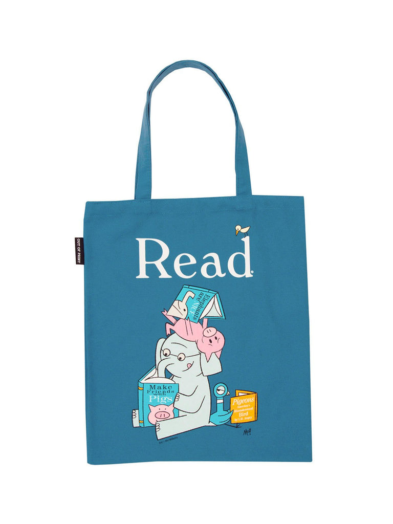 Elephant & Piggie Read Tote Bag - Large
