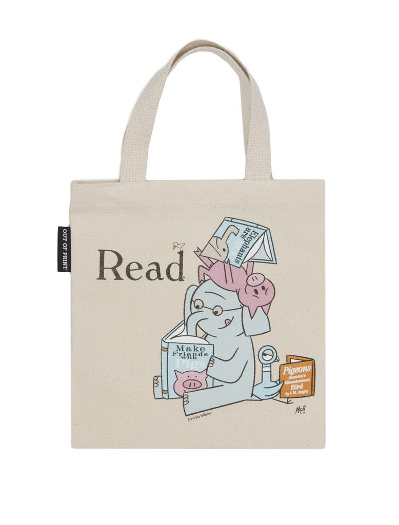 Elephant & Piggie Read Tote Bag - Small