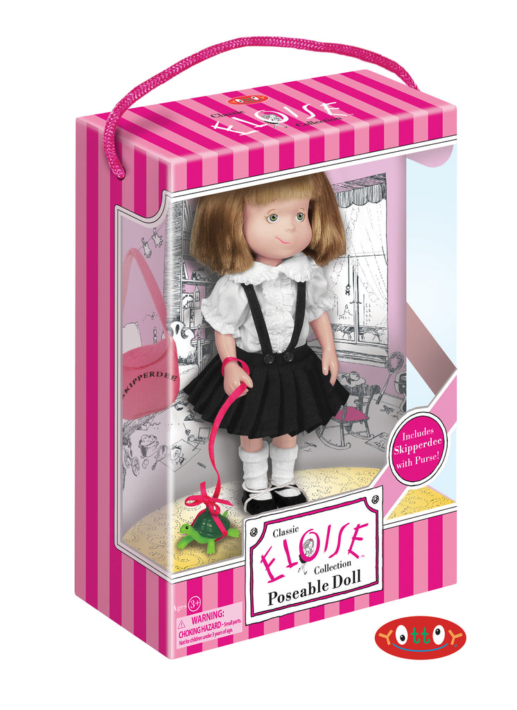 Eloise Poseable Doll with Skipperdee and Purse