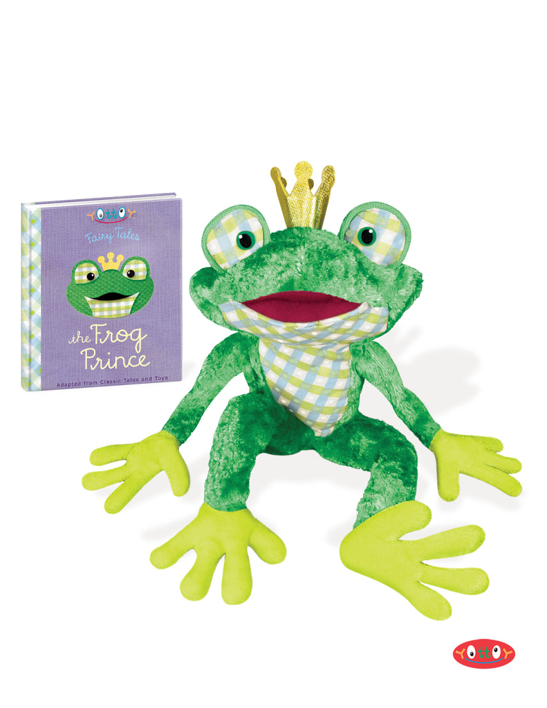 The Frog Prince Soft Toy with Mini-Book
