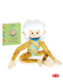 The Little Monkey Soft Toy with Mini-Book
