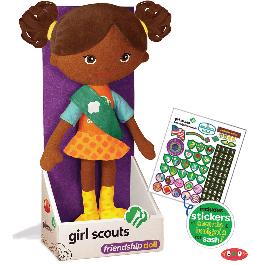 Carly Girl Scouts® Friendship Doll