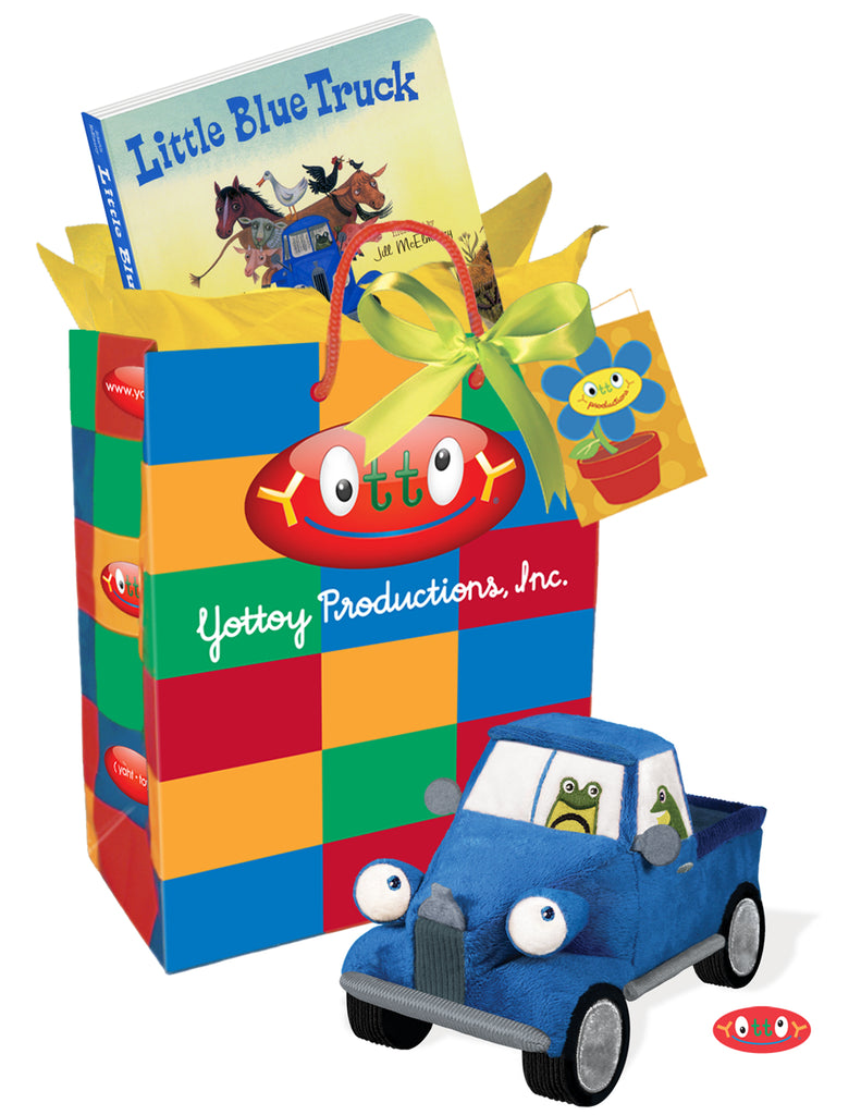 Beep Beep With Little Blue Truck Gift Set