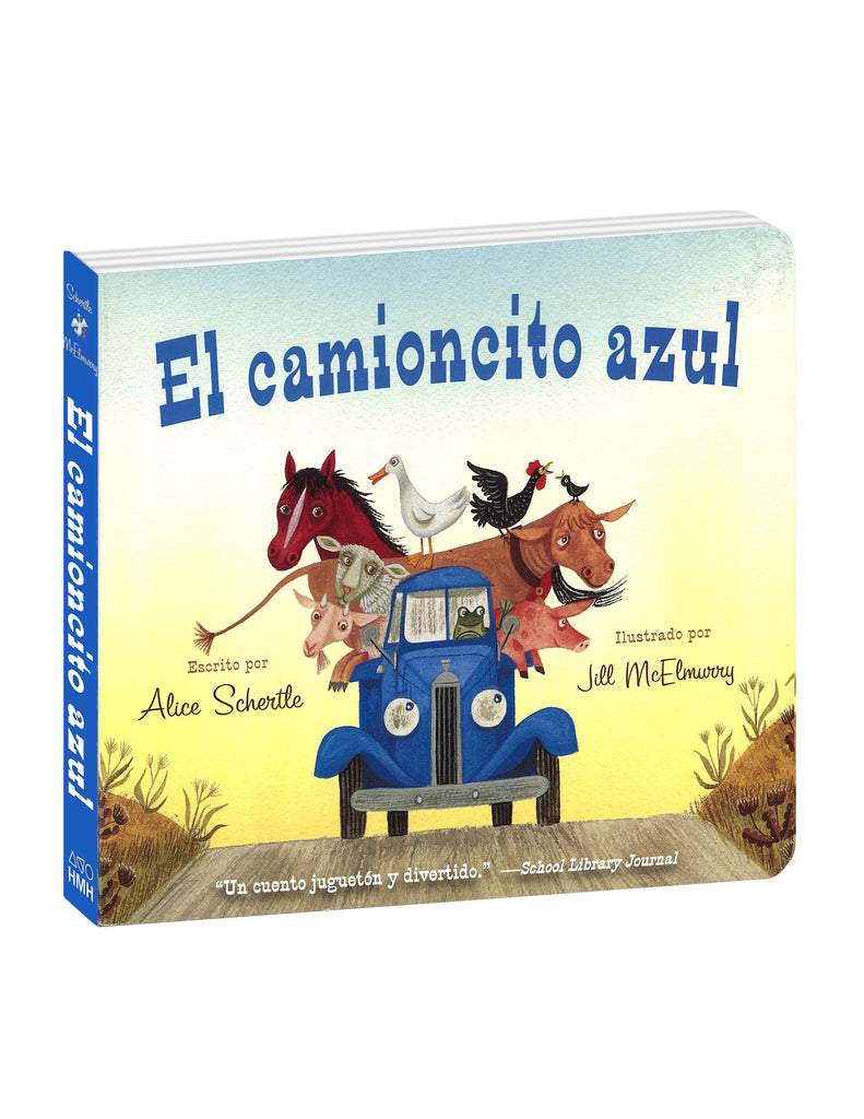 """Little Blue Truck"" Board Book - Spanish Translation"