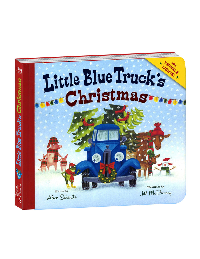 """Little Blue Truck's Christmas"" Hardcover Book"