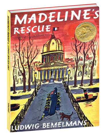 """Madeline and the Old House in Paris"" Hardcover Book"
